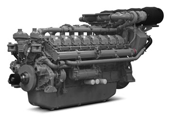 Perkins Powerful 4016 61TRG